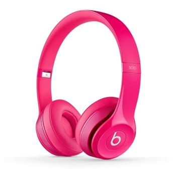 万博网页版万博manbetx体育Beats Solo2 独奏者第二代 头戴式贴耳耳机 洋粉色 带麦manbetx万博体育平台批发