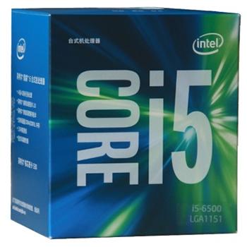 万博网页版万博manbetx体育英特尔(Intel) 酷睿i5-6500 14纳米盒装CPU处理器 (LGA1151/3.2GHz/6MB三级缓存/65W)manbetx万博体育平台批发