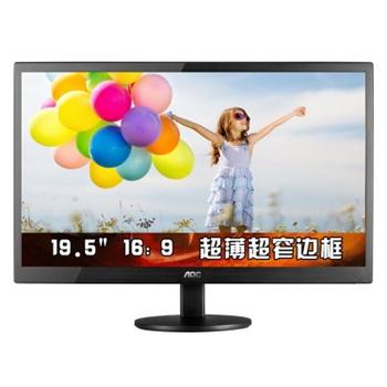 万博网页版万博manbetx体育AOC E2070SWN 19.5英寸LED背光节能窄边框液晶显示器(黑色)manbetx万博体育平台批发
