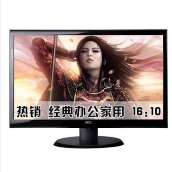 万博网页版万博manbetx体育AOC E2250SD 22英寸宽屏LED背光显示器(黑色)manbetx万博体育平台批发