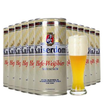 万博网页版万博manbetx体育凯撒白啤酒德国进口1L×12manbetx万博体育平台批发
