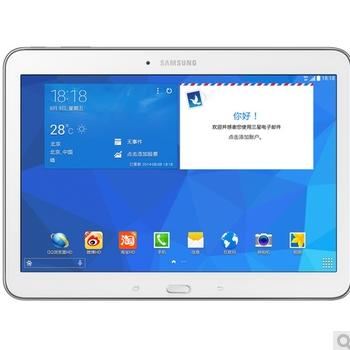 万博网页版万博manbetx体育三星(SAMSUNG)GALAXY Tab4 3G版 T531四核10.1英寸娱乐平板电脑(白色)manbetx万博体育平台批发